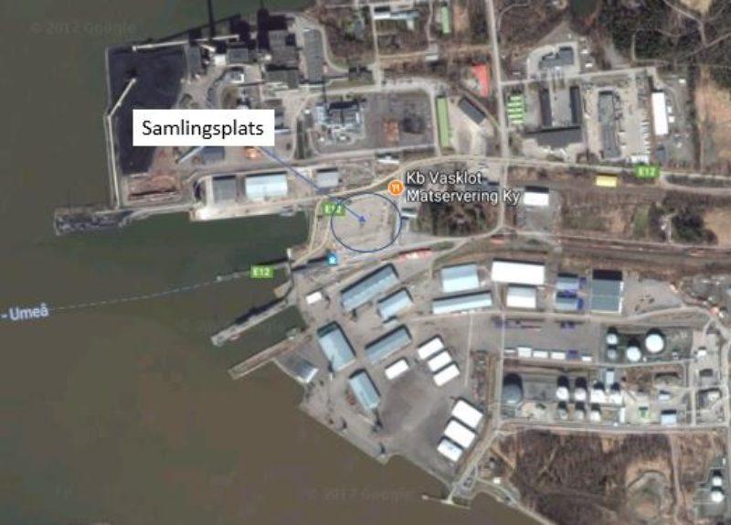 SLC - Karta Demonstration Vasa Hamn 9 11 2017