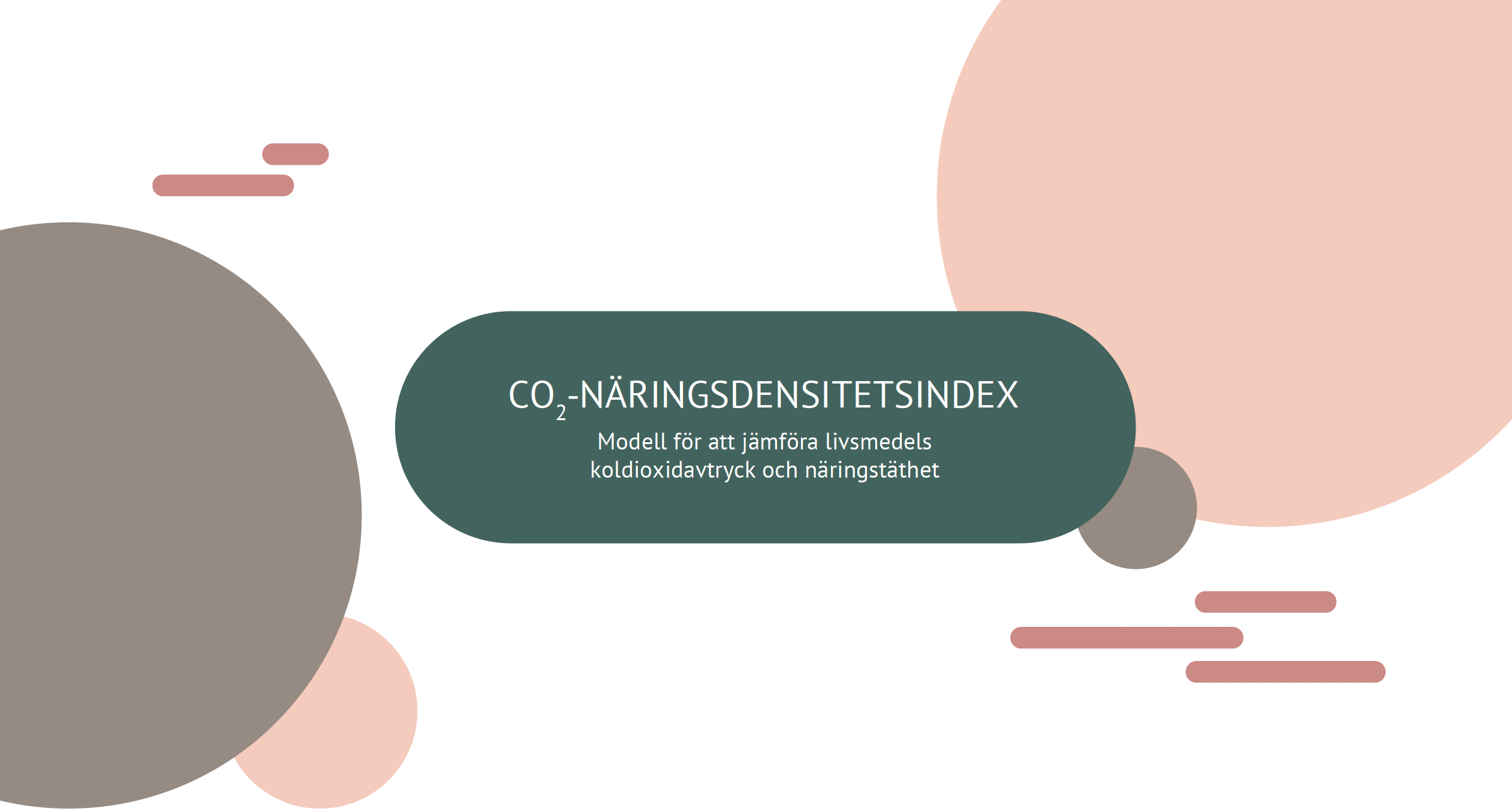 SLC - CO2 naringsdensitetsindex parm