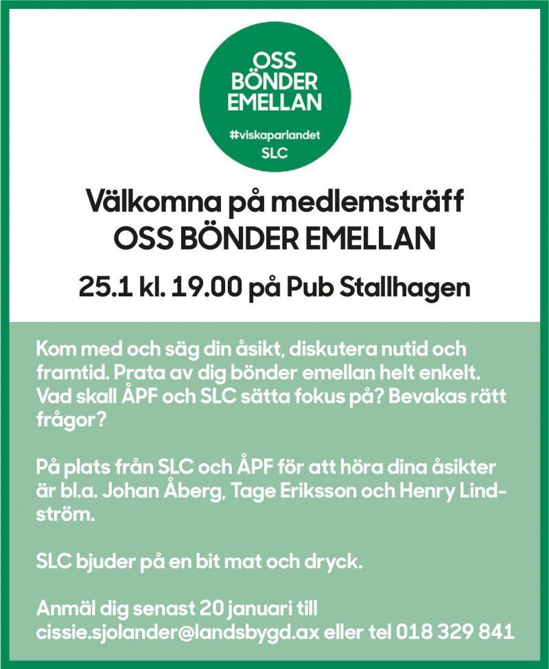 SLC - Oss Bonder Emellan A Pf Lfannons