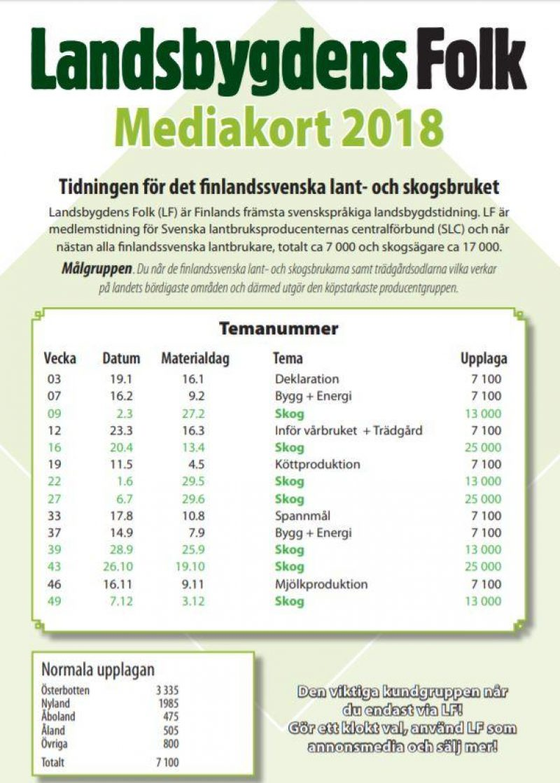 SLC - Lf Mediakort 2018
