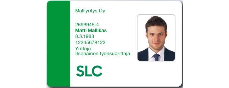 SLC - Mallikortti Slc Uusi Avlang