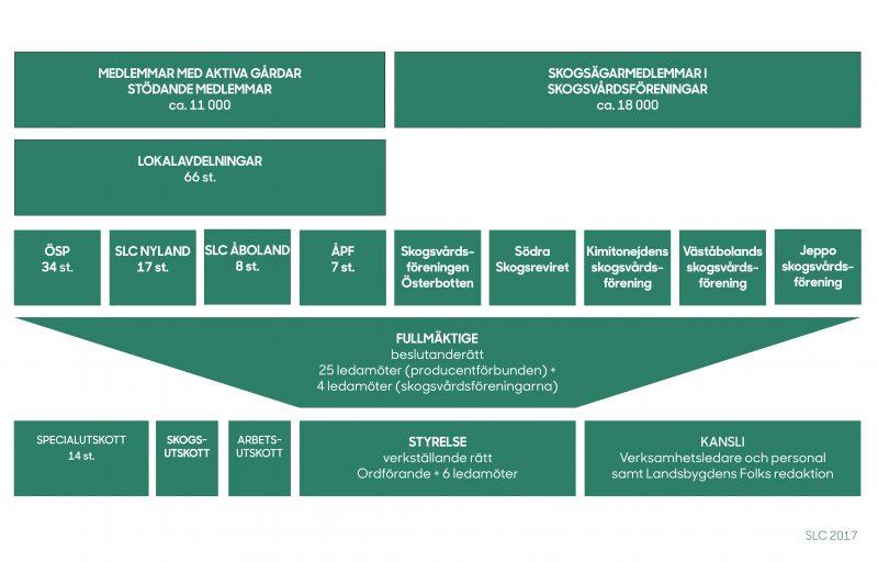 SLC - Organisationsschema