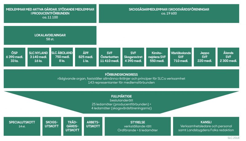 SLC - Organisationsschema 2018